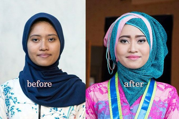 Before After by empata omah rias - 002