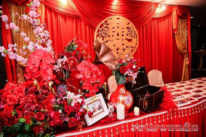 Oriental Wedding Decoration Theme by Wedding And You - 010
