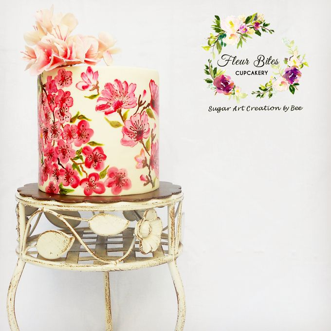 Engagements & Wedding Cakes by Fleur Bites Cupcakery - 036