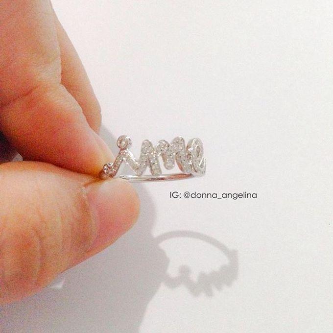 Name & Initial by DA Jewelry - 009