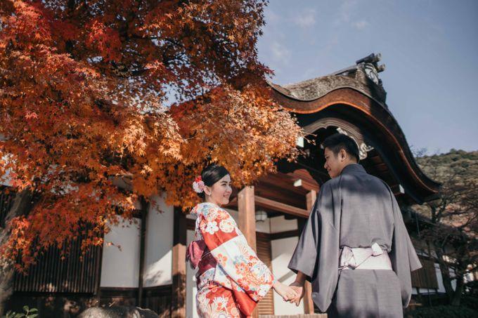 Hendri & Christine Japan Prewedding by Levin Pictures - 013
