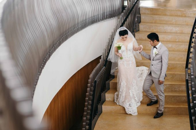 Hendri & Christine Bali Wedding by Levin Pictures - 019