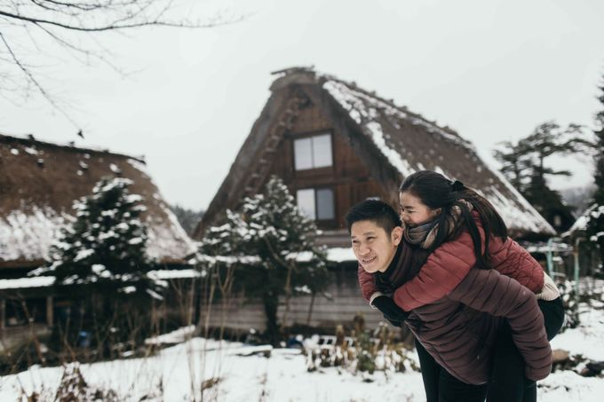 Hendri & Christine Japan Prewedding by Levin Pictures - 027