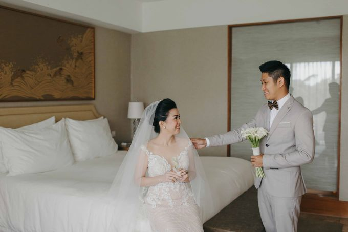 Hendri & Christine Bali Wedding by Levin Pictures - 018