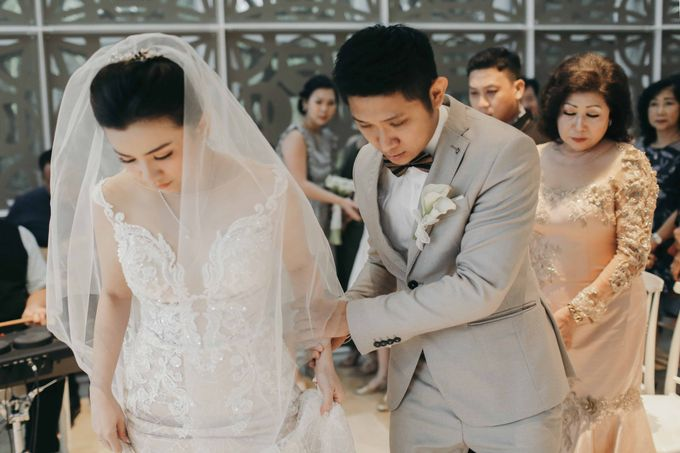 Hendri & Christine Bali Wedding by Levin Pictures - 030