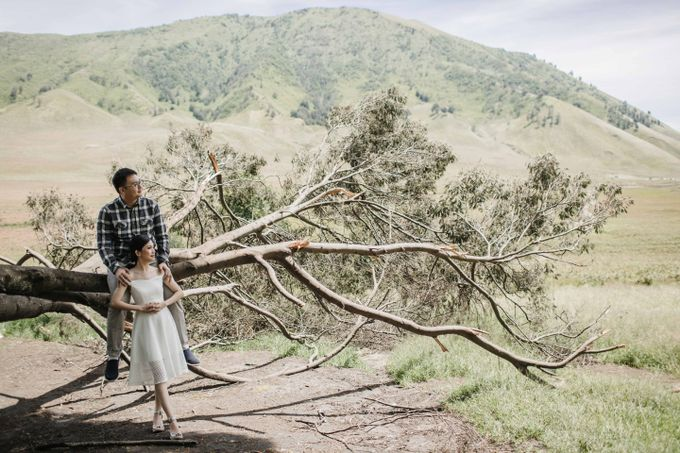 William & Yenny Bromo Prewedding by Levin Pictures - 010