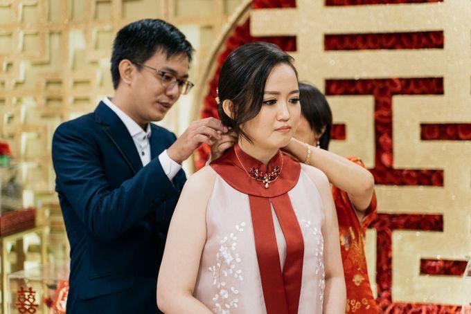 Engagement of Wenny & Putra at Golden Leaf Kelapa Gading by Sparkling Organizer - 001