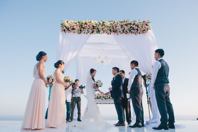 Wedding at Villa The Sanctus in Uluwatu by Bali Tie d' Knot - 011