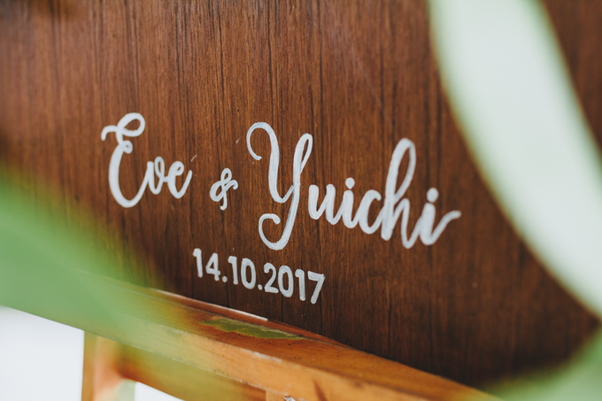The Wedding of Eve & Yuichi by Bali Yes Florist - 001