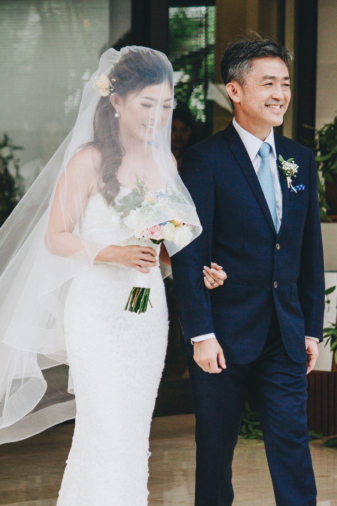 The Wedding of Eve & Yuichi by Bali Yes Florist - 005