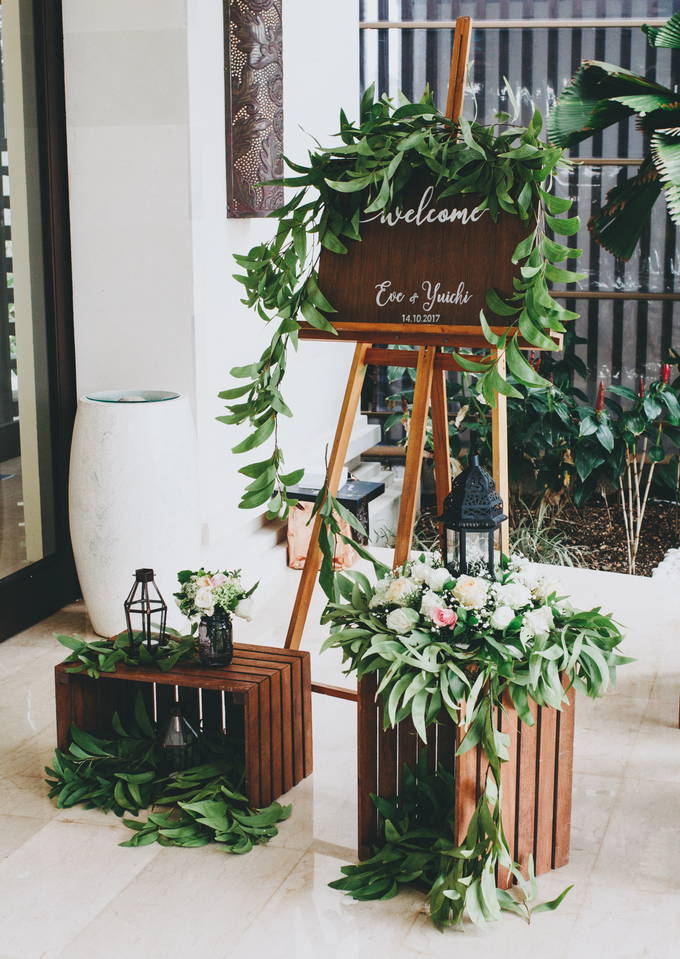 The Wedding of Eve & Yuichi by Bali Yes Florist - 002