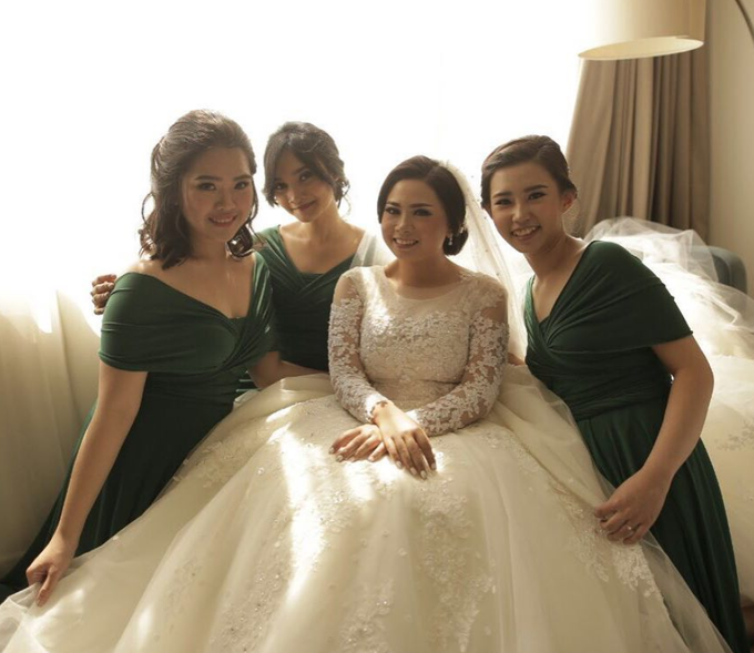 YESSICA WEDDING by bridestore indonesia - 002