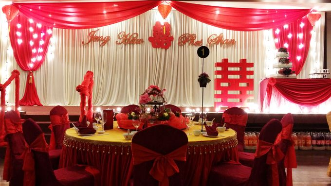 Stage Backdrop Design by Wedding And You - 030
