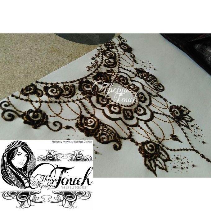 Henna Artwork Designing by Theiya Goddess Touch - 014