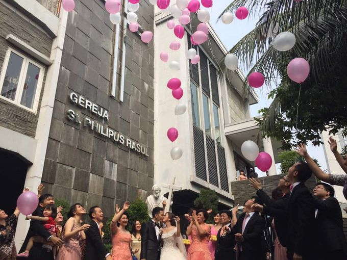 Wedding Day of Yoki & Junike by Edelweis Organizer - 007