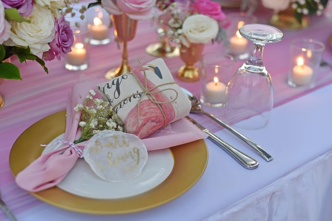 Classic Romantic Pink & Such by magical blossoms - 009
