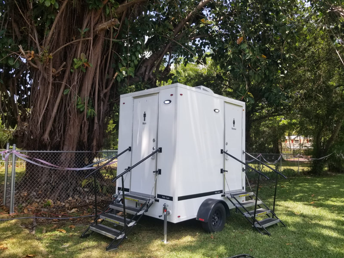 Contact us for a quote! by YML Portable Restrooms - 002