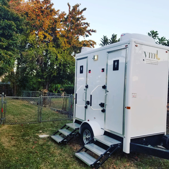 Contact us for a quote! by YML Portable Restrooms - 003