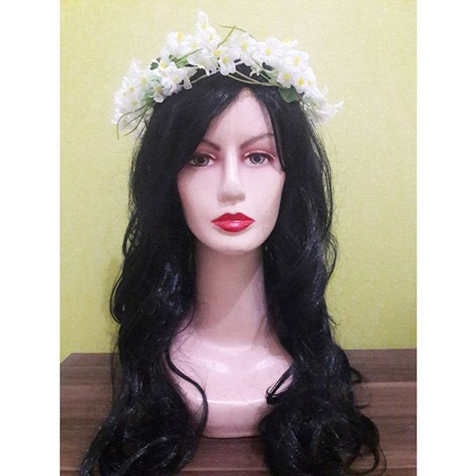 Flower Crown / Bando Bunga / Mahkota Bunga by Estrella Flower Crown - 009