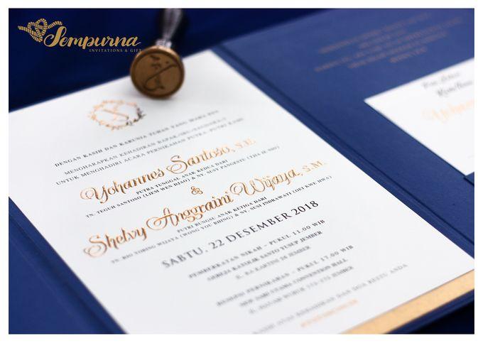 Envelope Triple Board by Sempurna Invitations&Gift - 003