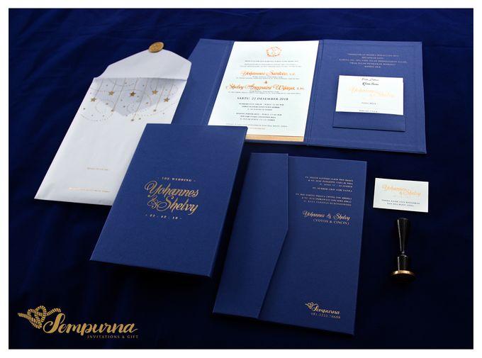 Envelope Triple Board by Sempurna Invitations&Gift - 004