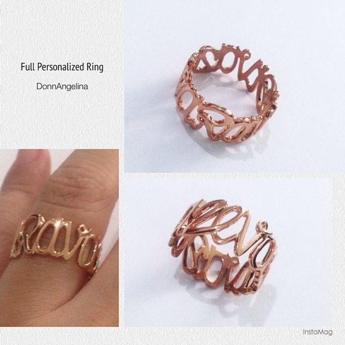 Name & Initial by DA Jewelry - 033