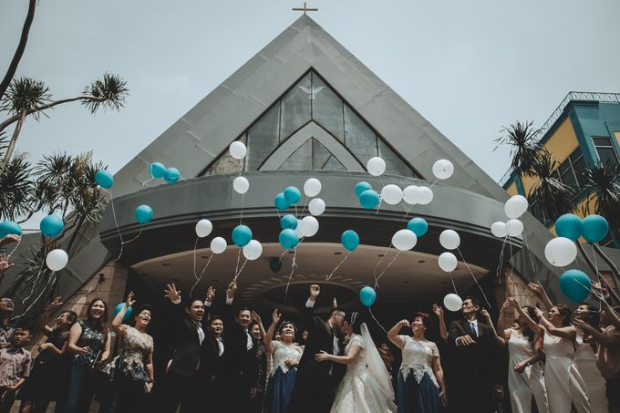Yosua & Angel Wedding Day by Chroma Pictures - 012