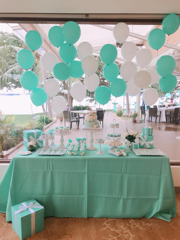Tiffany wedding dessert table by Shangri-La Hotel Singapore - 003