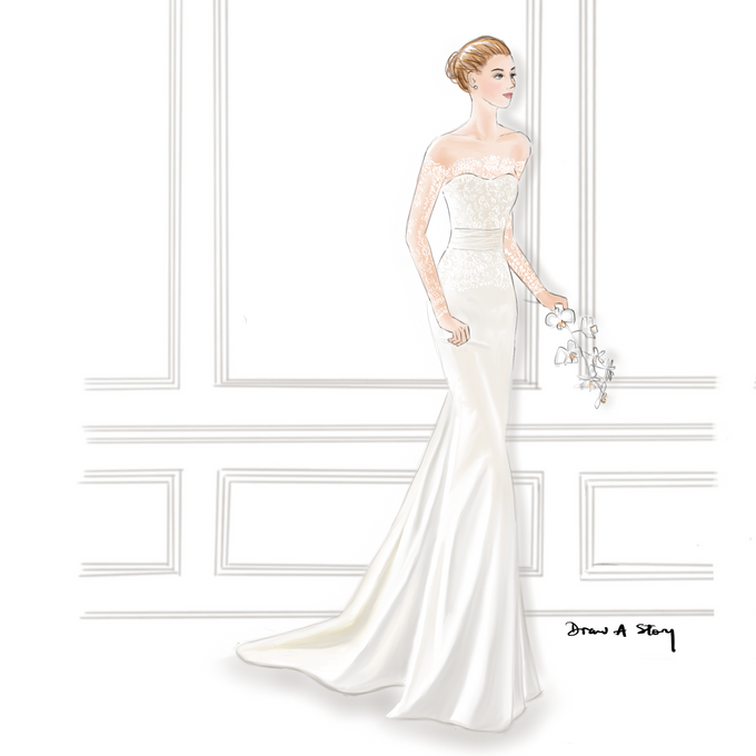 Bridal Illustrations by Draw A Story - 002