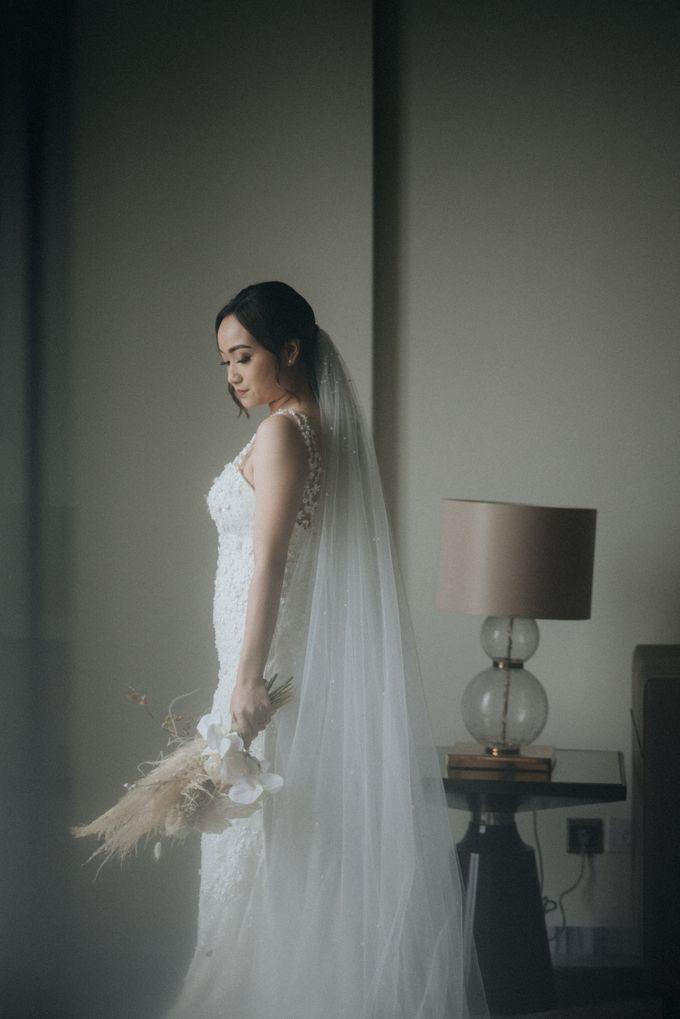 The Wedding of Rosenna & Yheskiel by Sheraton Grand Jakarta Gandaria City Hotel - 016