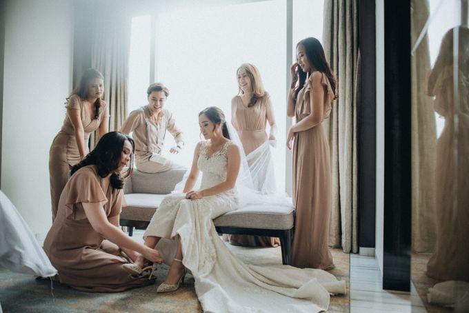 The Wedding of Rosenna & Yheskiel by Sheraton Grand Jakarta Gandaria City Hotel - 006