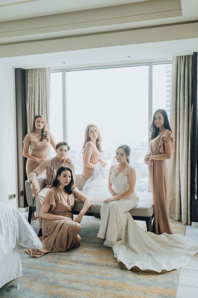 The Wedding of Rosenna & Yheskiel by The Flower Philosophy - 007