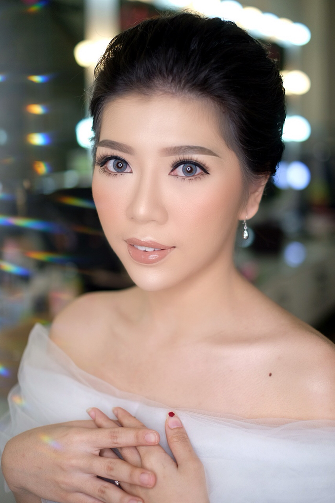 Makeup & Hairdo Engagement for Ms. Cynthia  by makeupbyyobel - 004