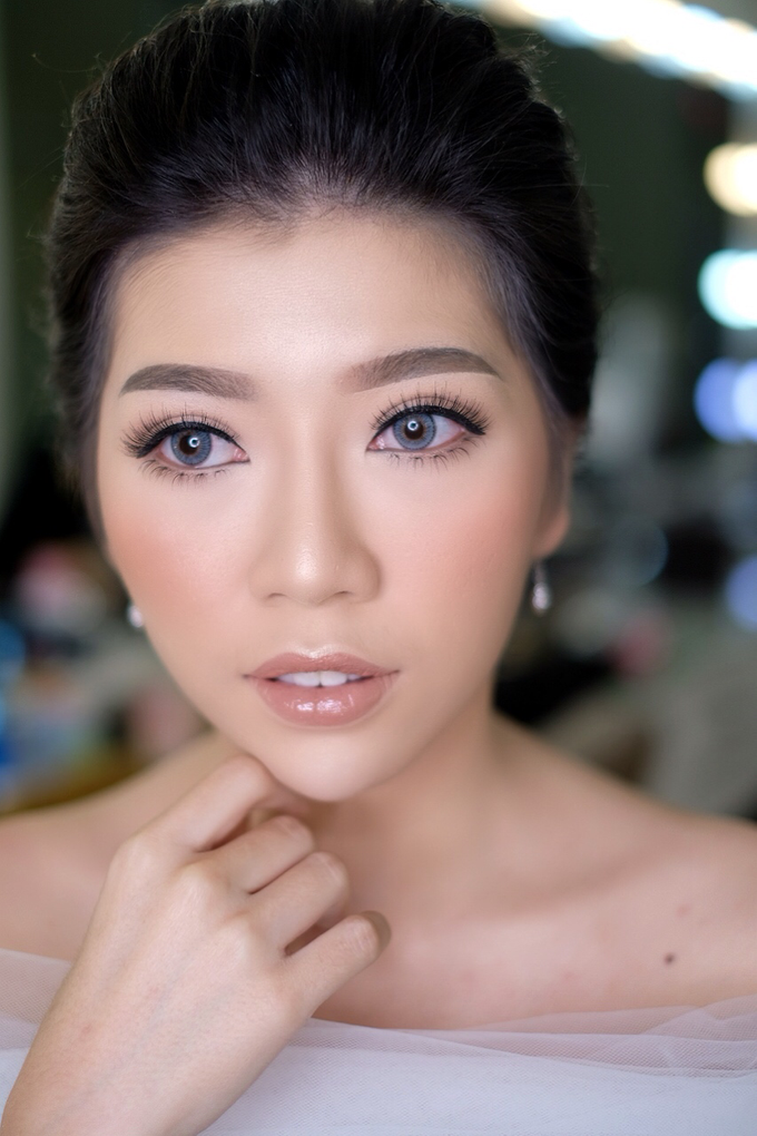 Makeup & Hairdo Engagement for Ms. Cynthia  by makeupbyyobel - 002