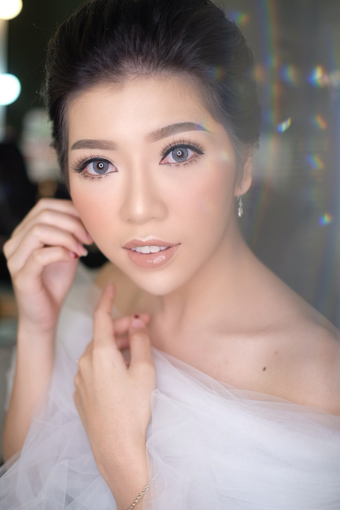 Makeup & Hairdo Engagement for Ms. Cynthia  by makeupbyyobel - 005