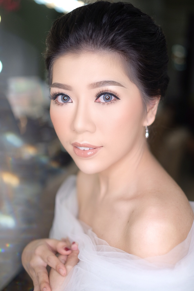 Makeup & Hairdo Engagement for Ms. Cynthia  by makeupbyyobel - 006