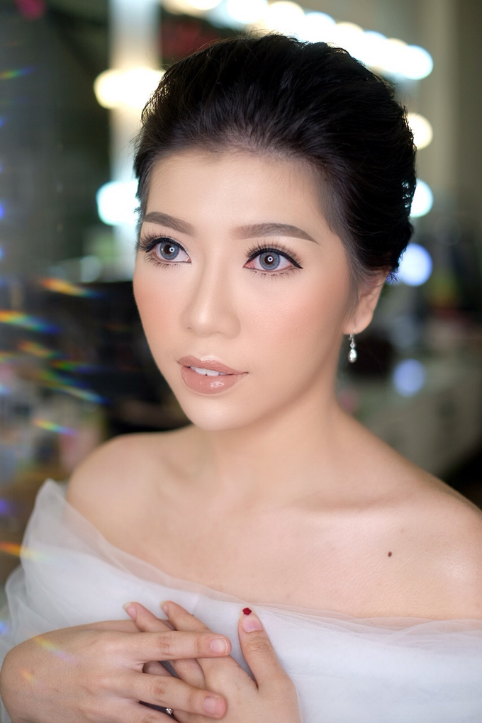 Makeup & Hairdo Engagement for Ms. Cynthia  by makeupbyyobel - 007