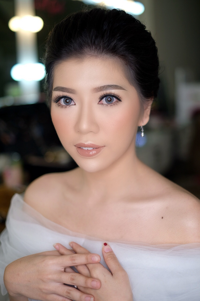 Makeup & Hairdo Engagement for Ms. Cynthia  by makeupbyyobel - 015