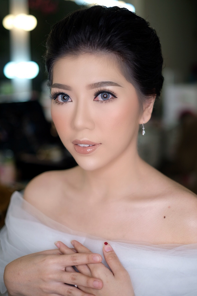 Makeup & Hairdo Engagement for Ms. Cynthia  by makeupbyyobel - 014