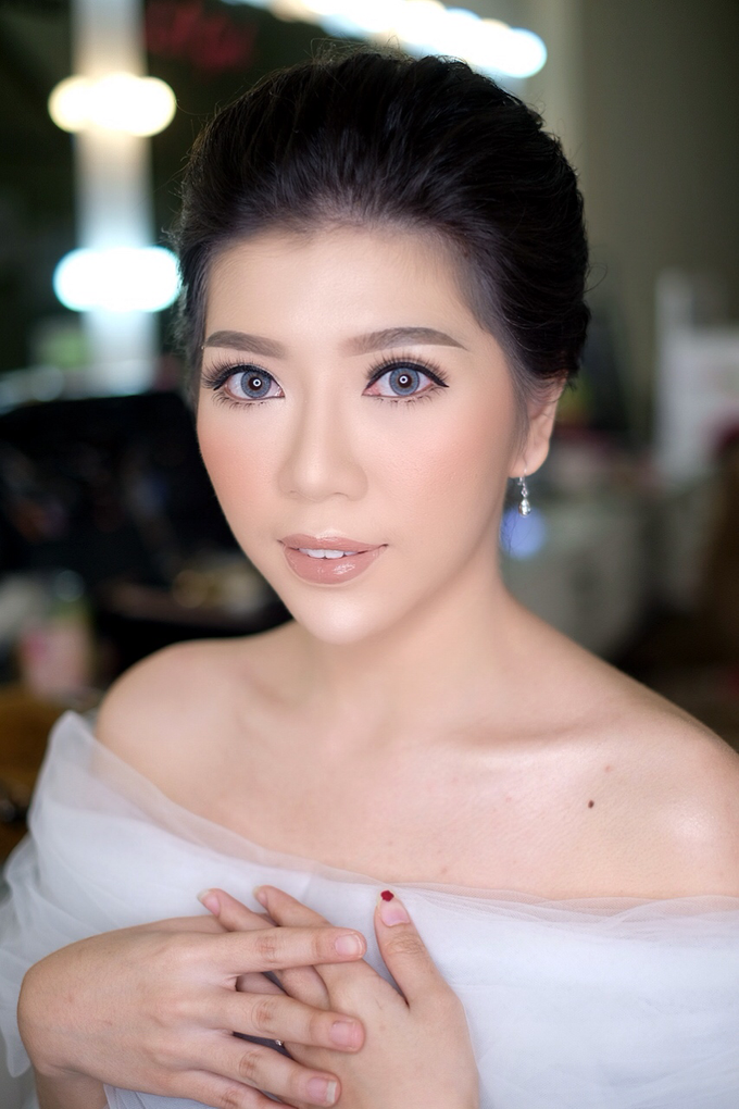 Makeup & Hairdo Engagement for Ms. Cynthia  by makeupbyyobel - 016