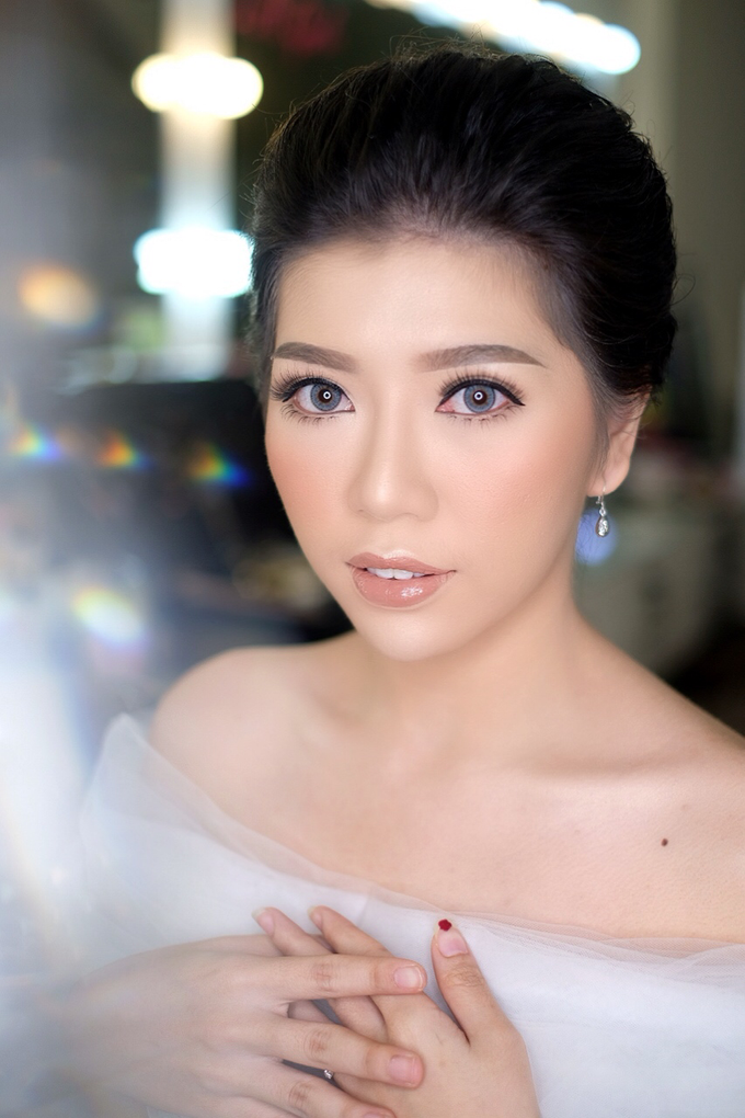 Makeup & Hairdo Engagement for Ms. Cynthia  by makeupbyyobel - 017