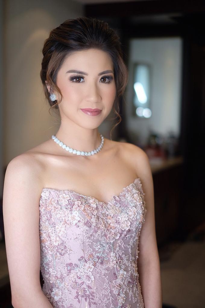 Makeup & Hairdo Sister of the Bride ( Mrs. Vallen) by makeupbyyobel - 004