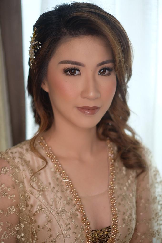 Makeup & Hairdo Sister of the Bride ( Mrs. Vallen) by makeupbyyobel - 007