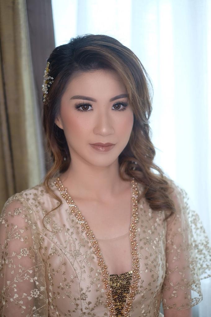 Makeup & Hairdo Sister of the Bride ( Mrs. Vallen) by makeupbyyobel - 010