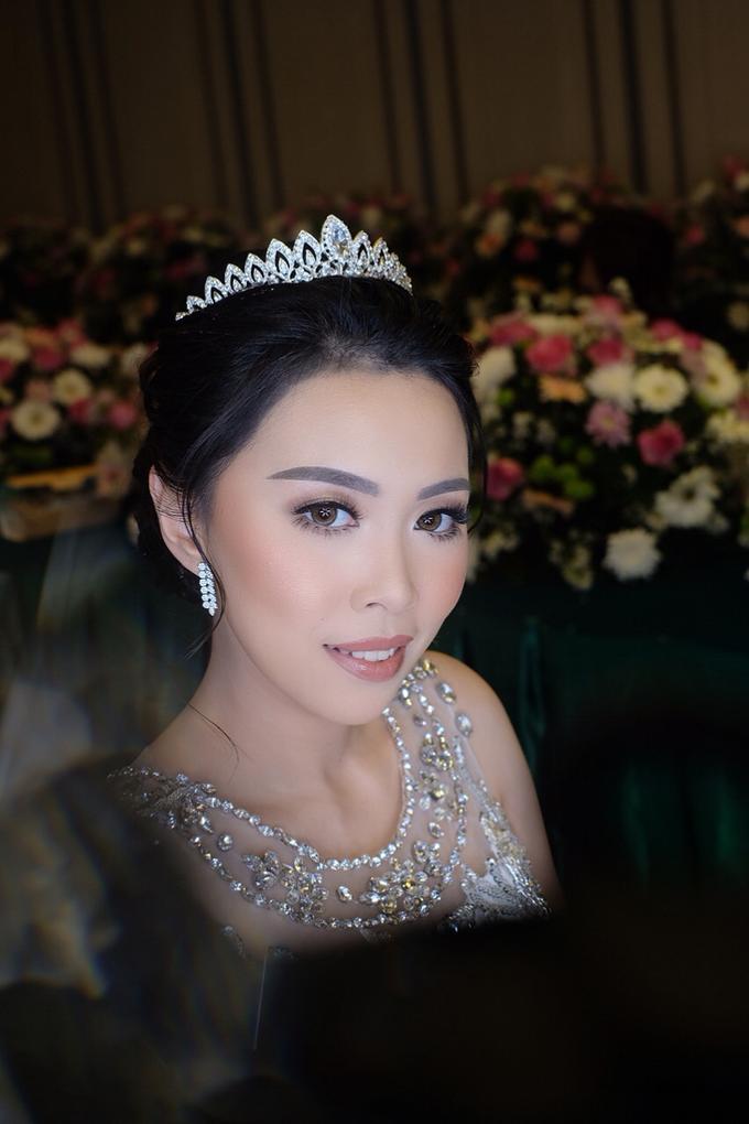 Hiro & Melisa Wedding by makeupbyyobel - 002
