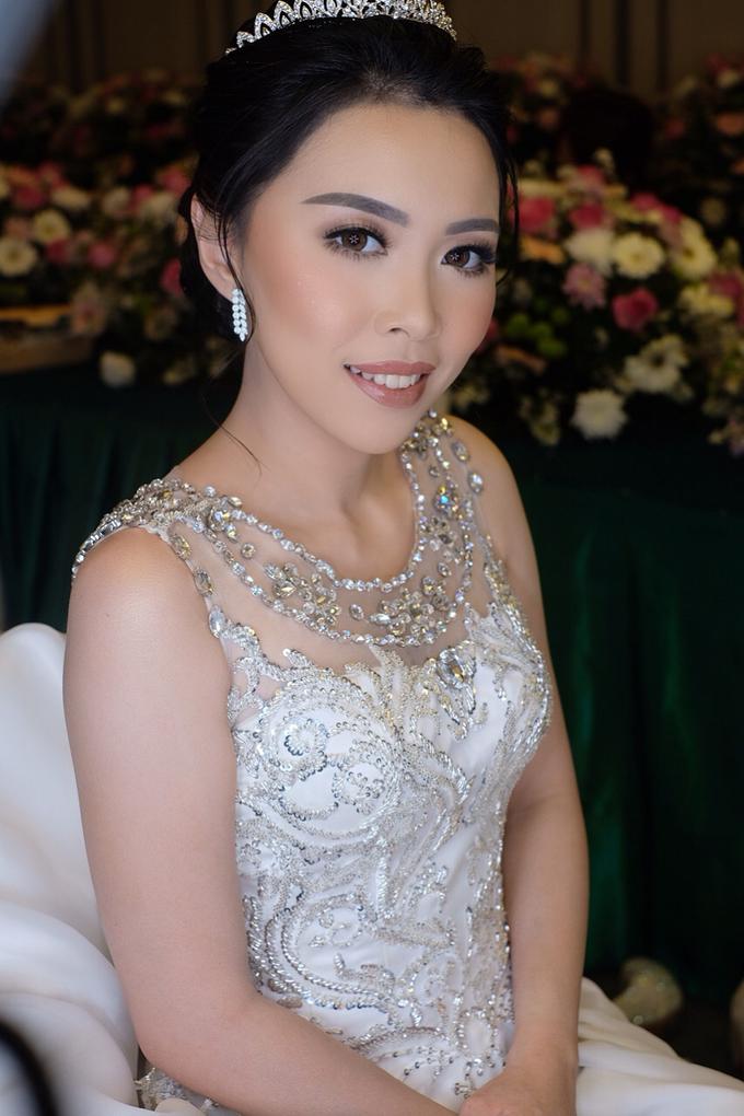 Hiro & Melisa Wedding by makeupbyyobel - 003