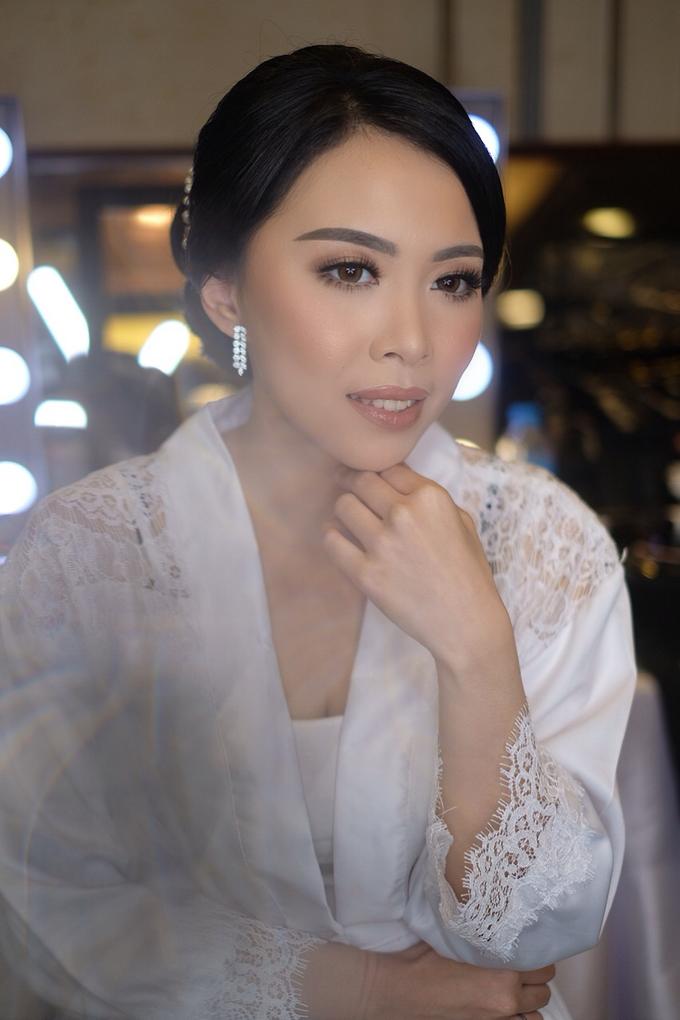 Hiro & Melisa Wedding by makeupbyyobel - 005