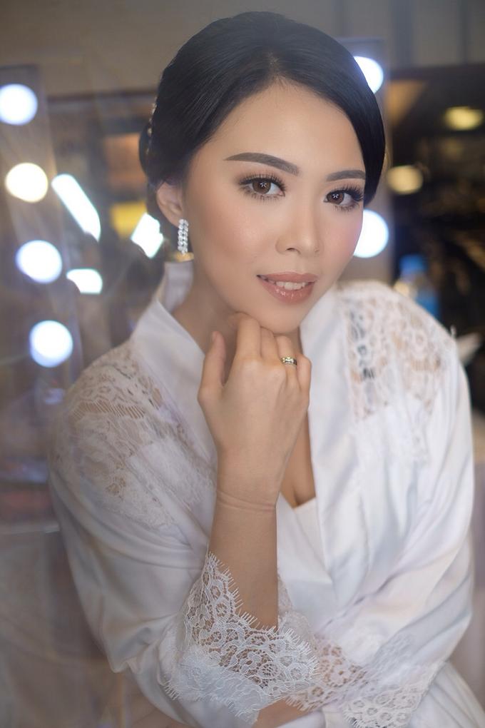 Hiro & Melisa Wedding by makeupbyyobel - 007