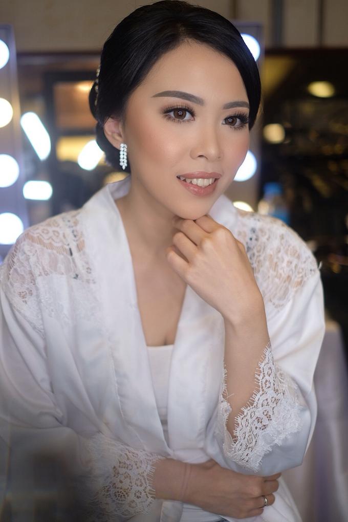 Hiro & Melisa Wedding by makeupbyyobel - 006
