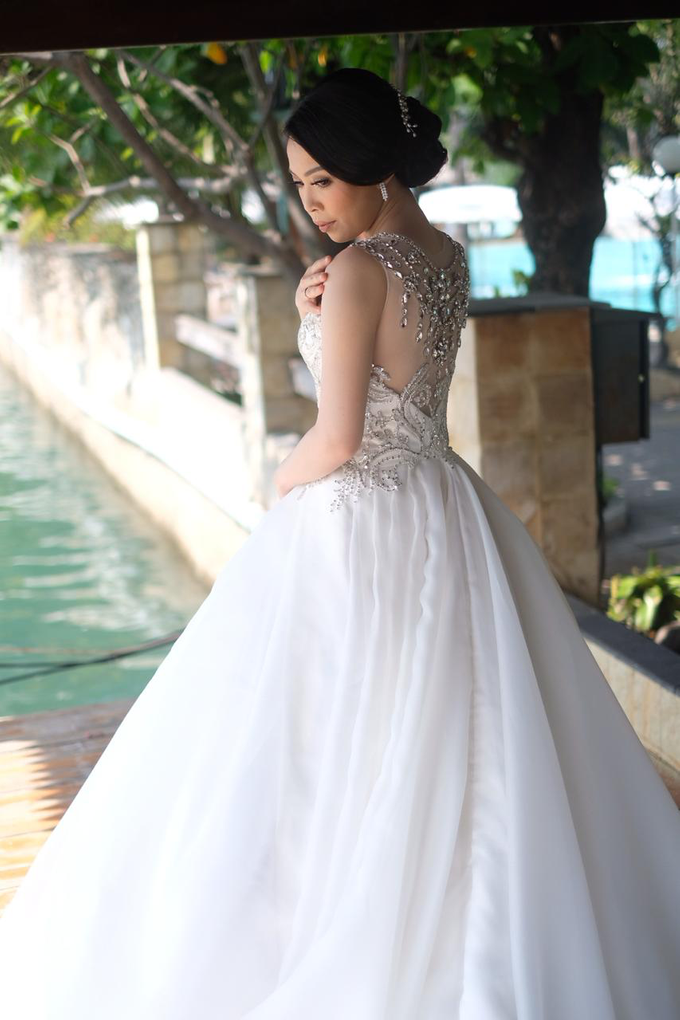Hiro & Melisa Wedding by makeupbyyobel - 018